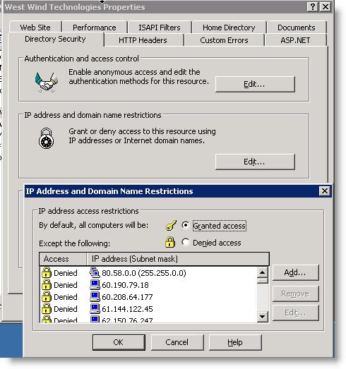 Ip Address Blocker