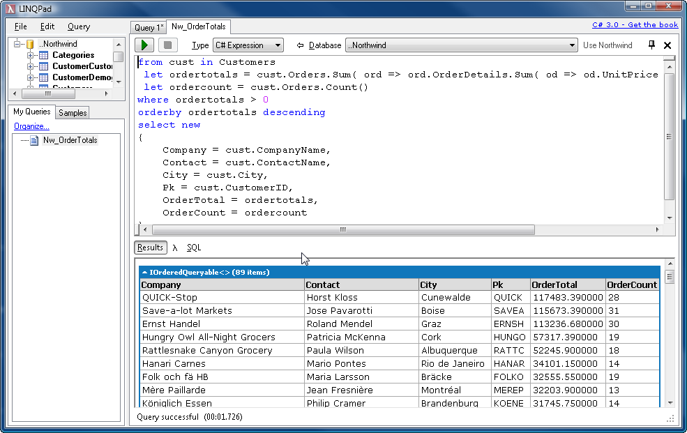 Linqpad As A Code Snippet Execution Engine Rick Strahl S