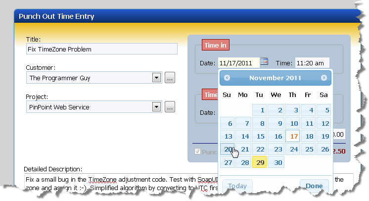 jQuery Time Entry with Time Navigation Keys - Rick Strahl's Web Log