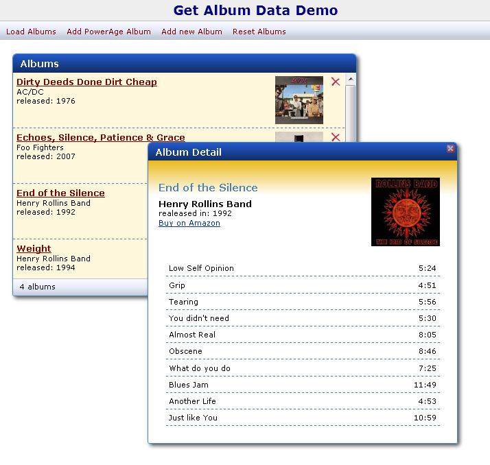 Figure 4 -GetAlbumSample