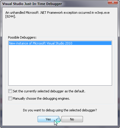 Debugging Application_Start and Module Initialization with