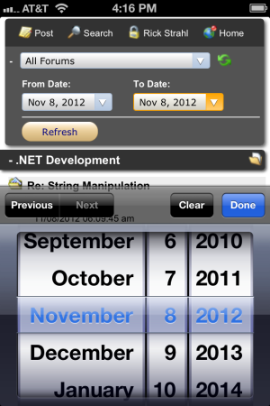 HTML5 Input type=date Formatting Issues - Rick Strahl's Web Log