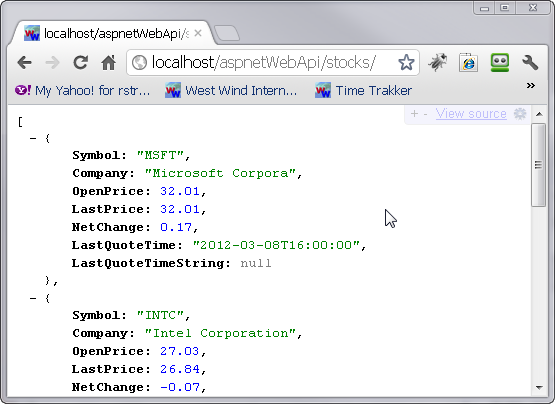 Removing the XML Formatter from ASP NET Web API Applications