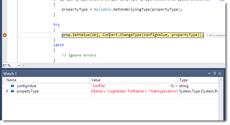 Using and Debugging External Source Code Packages in ASP NET