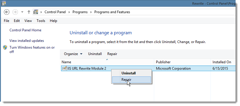 Windows 10 Upgrade and IIS 503 Errors - Rick Strahl's Web Log