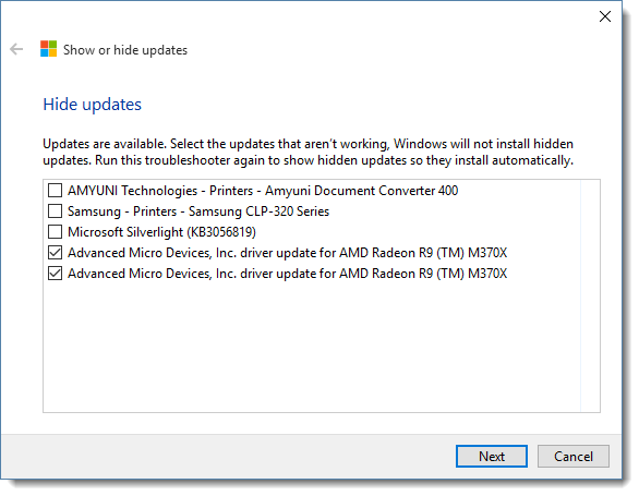 Windows 10 RTM Upgrade and Driver Update Issues - Rick Strahl's Web Log