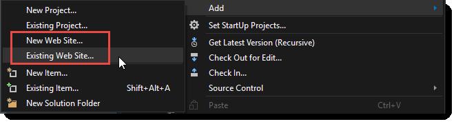 Excluding the node_modules Folder in Visual Studio WebSite