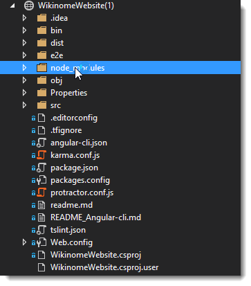 Excluding the node_modules Folder in Visual Studio WebSite Projects ...