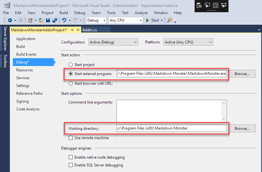 Creating a Markdown Monster Addin: Save Images to Azure Blob Storage
