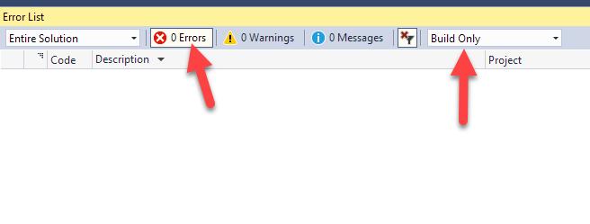 Fixing Visual Studio Intellisense Errors - Rick Strahl's Web Log