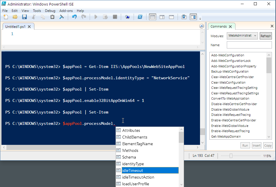 Automating IIS Feature Installation with Powershell - Rick Strahl's