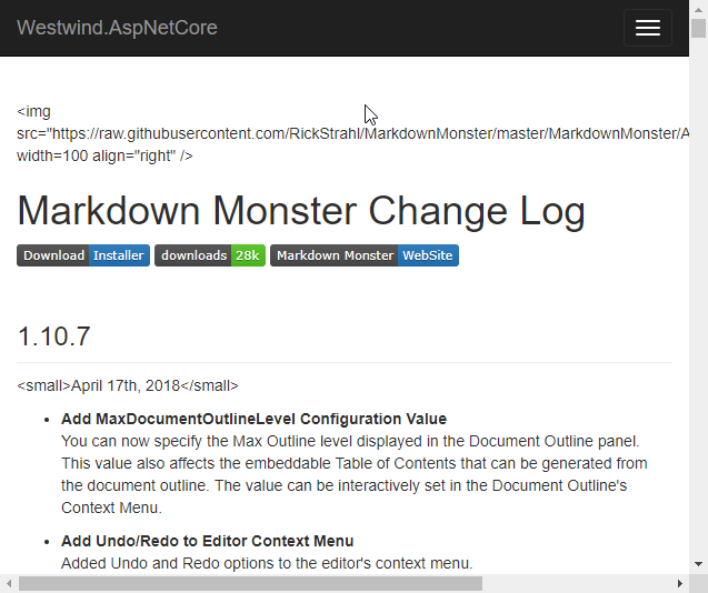 Markdown and Cross Site Scripting - Rick Strahl's Web Log
