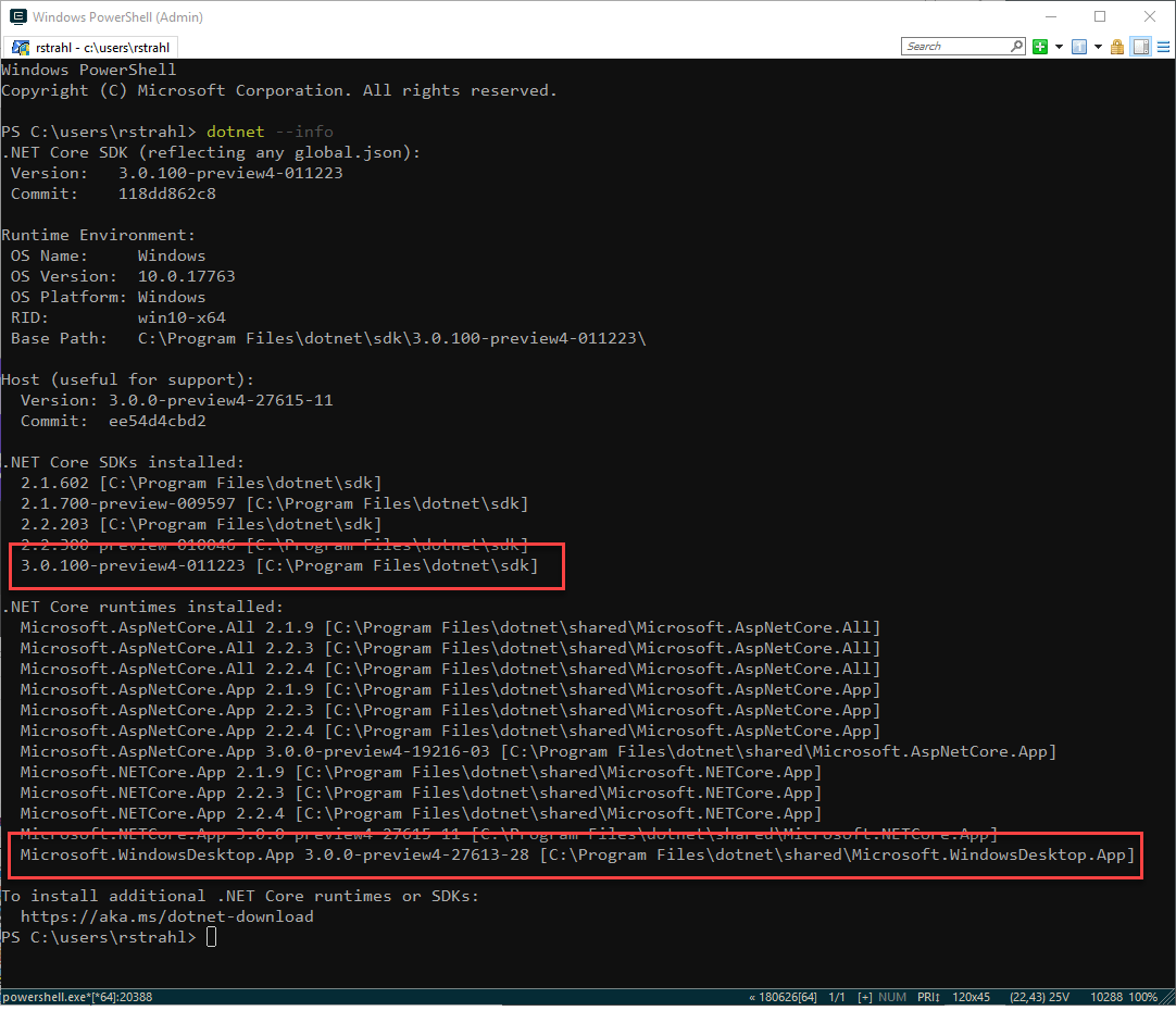 Adventures in  NET Core SDK Installation: Missing SDKs and 32 bit vs