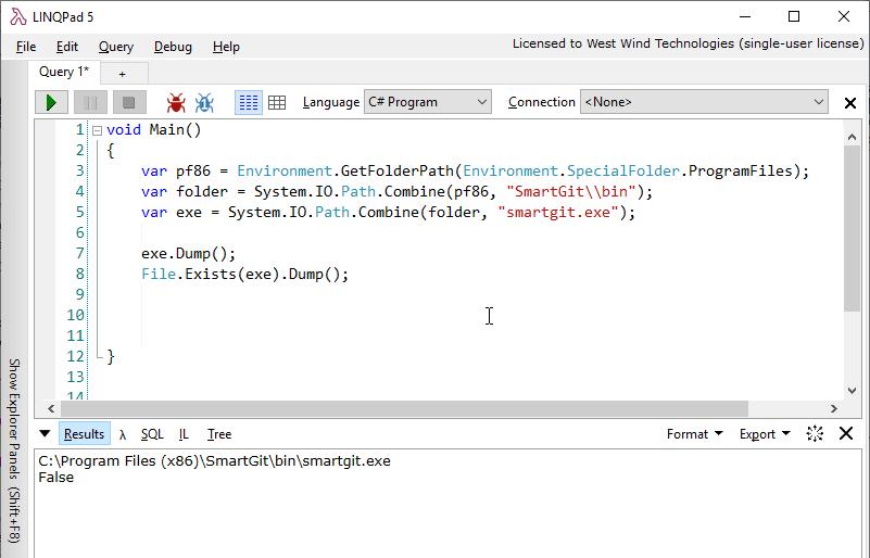 Finding the ProgramFiles64 Folder in a 32 Bit App - Rick