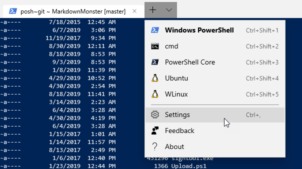 Programmatically Opening Windows Terminal in a Specific